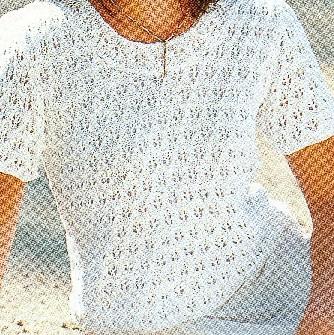 Узоры Для Вязания Спицами Для Летней Блузки